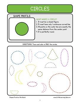 Basic Skills Workbook - Preschool Kindergarten Primary - Shapes & Geometry