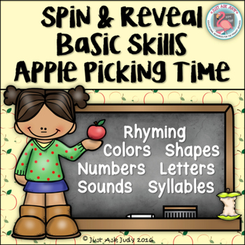 Basic Skills for Kindergarten Apple Theme Games