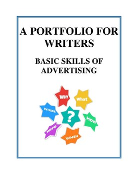 Basic Skills of Advertising - A Portfolio for Writers, Activities and Handouts