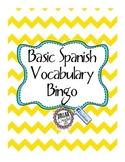 Basic Spanish Bingo