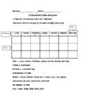 Basic Spanish Calendar Sheet