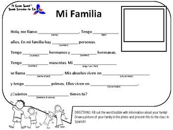 Basic Spanish Conversation Exercises