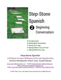 Beginning Spanish Conversation Lesson Plans