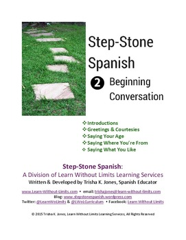 Beginning Spanish Conversation Lesson Plans