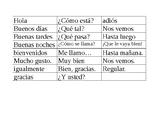 Basic Spanish Conversation Phrases 1