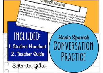 Basic Spanish Conversation Practice
