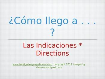 Basic Spanish Directions Power Point