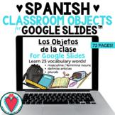 Basic Spanish Grammar - Spanish Classroom Objects Vocabula