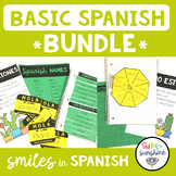 Basic Spanish: Interactive Notebooks, Activities, and Posters