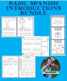 Basic Spanish Introductions Bundle