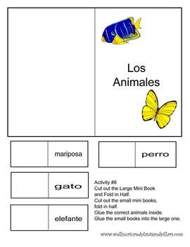 Basic Spanish Lapbook for Kinder- 3rd