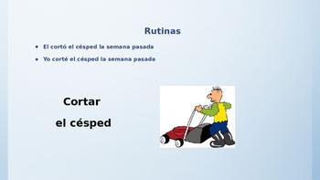 Basic Spanish Routines PP