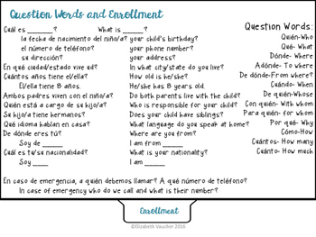 Basic Spanish for Educators
