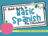 Basic Spanish for Educators