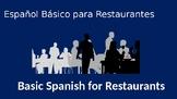 Basic Spanish for Restaurants