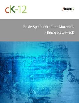 Basic Speller Student Materials