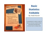Basic Statistics Foldable