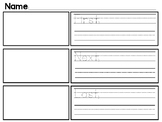 Story Sequence Graphic Organizer-First, Next, Last