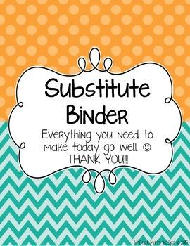 Basic Substitute Binder Dividers