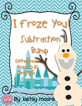 Basic Subtraction Bump Game I Froze You!