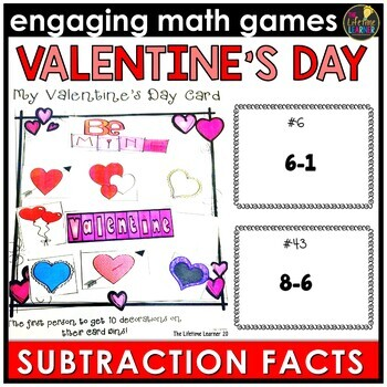 Basic Subtraction Facts Game