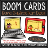 Basic Subtraction Facts BOOM Cards™ (Fall Edition)