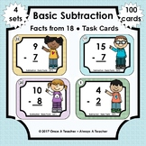 Task Cards  •  Basic Subtraction Facts