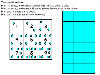 Basic Subtraction Game: Duck Pond!
