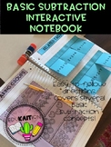 Basic Subtraction Interactive Notebook
