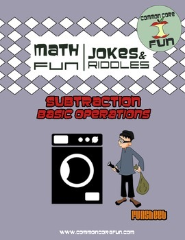 Basic Math - Subtraction Joke Worksheet