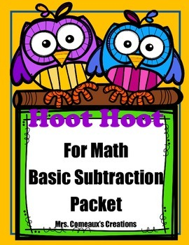Basic Subtraction Packet