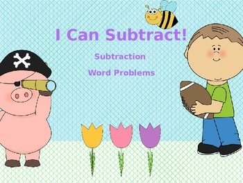 Basic Subtraction Power Point - I Can Subtract!