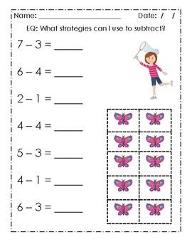 Basic Subtraction Practice