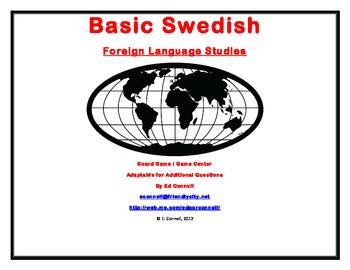 Basic Swedish Board Game