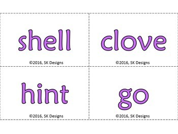 Basic Syllable Type Practice, Reference Printables & Review w Bonus Flash Cards!
