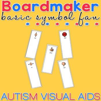Basic Symbol Fan - Boardmaker Visual Aids for Autism