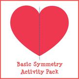 Basic Symmetry Activity Pack (Reflection Symmetry)