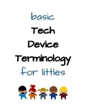 Basic Tech Device Terminology for Littles