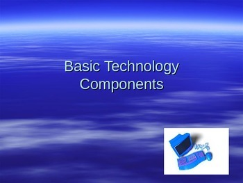Basic Technology Components Quiz (PowerPoint)