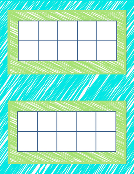Basic Tens Frame with border