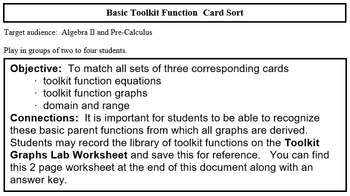 Basic Toolkit Functions Card Match
