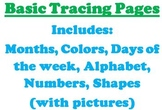 Basic Tracing Pages