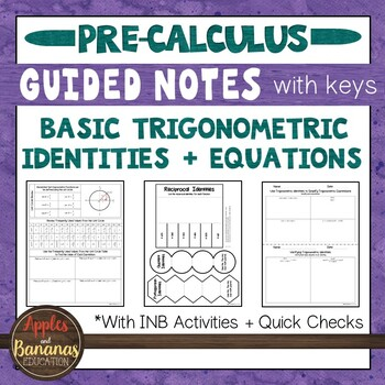 Trigonometric Identities and Equations - Interactive Noteb