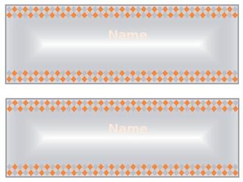 Basic Unisex Nameplates