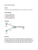 Basic VLAN With One Router