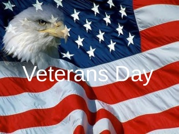 Basic Veterans Day Power Point for Students with Disabilities