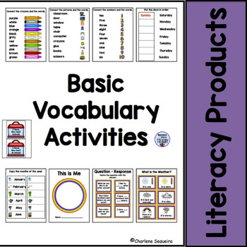 Basic Vocabulary Activities