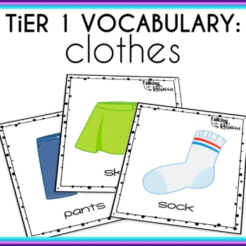 Basic Vocabulary Activities: Clothes