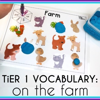 Basic Vocabulary Activities: Farm and Farm Animals