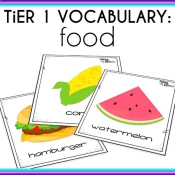 Basic Vocabulary Activities: Food and Basic Food Groups